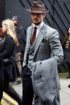 David Gandy in Cutler Tie