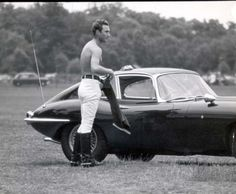 Prince William of Gloucester (1941-1972)  There is a very similar snap of shirtless Prince Charles . . .