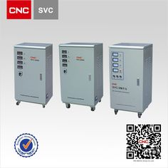 SVC Three-Phase High Accuracy Automatic AC Voltage Stabilizer