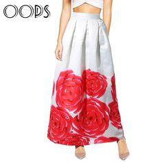 Белая юбка в пол с крупными розами Ссылка: http://ali.pub/6jt48