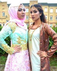 Photoshoot Makeup: @salekabeauty Outfits: @serenegems Jewellery: @hiijabiichiickz #jewellery #makeup #hijab #photographer by r.photographs