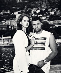 Lana Del Rey behind the scenes of GQ Magazine shoot #LDR