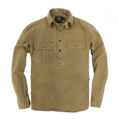 RRL プルオーバーワークシャツ