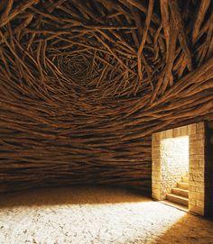 La Oak Room  Andy Goldsworthy