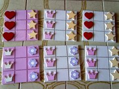 Ben Y Holly, Biscuit, Tic Tac Toe, Sensory Toys, Polymer Clay Crafts, Candy Recipes, Girly, Baby Shower, Holiday Decor