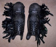 MadMaxModels.com: HUMVEE Driver's Feather Shinguards