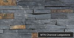 Mountain Charcoal Ledgestone