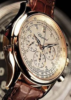 Chopard Chronographe Mille Miglia Vintage I could not love this Fancy Watches, Rolex Watches For Men, Vintage Watches For Men, Elegant Watches, Stylish Watches, Luxury Watches For Men, Cool Watches, Men's Watches, Amazing Watches