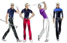 Preview the looks that RLX Golf Ambassador Luke Donald will be wearing at The Open Championship this week