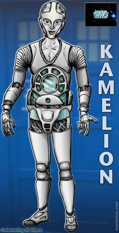 Kamelion by Marlowinc Doctor Who Fan Art, Doctor Who Quotes, Fifth Doctor, Eleventh Doctor, Original Doctor Who, Doctor Who Comics, Classic Doctor Who, Doctor Who Companions, David Tennant Doctor Who