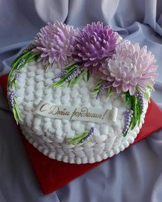 Creative Cake Decorating, Creative Cakes, Buttercream Flowers, Buttercream Cake, Beautiful Cakes, Amazing Cakes, Foto Pastel, Dino Cake, Buttercream Decorating