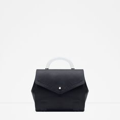 ZARA - WOMAN - BOWLING BAG WITH HANDLE AND STRAP