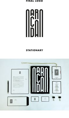 ARCADA by Ivo Reis, via Behance, visual identity inspired by the aqueduct's arches of Vila do Conde, Portugal.
