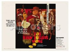 For a Few Dollars More, 1966 Movies Art Print - 61 x 46 cm