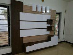 #woodworkingidea Lcd Units, Lcd Monitor, Tv Unit, Home Improvement, Woodworking, Wall, Design, Walls