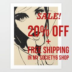 Just letting you know that a 48-hour sale kicks off tomorrow: 20% off + free shipping on everything from Sunday morning through Monday night. Visit https://society6.com/hmdesignspl #society6 #kinky #art #sexy #dirty #design #naughty #prints #canvas #sale #onsale