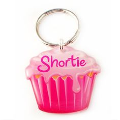 Happy Tags - Pink Cupcake Pet Id Tag, $15.00 (http://www.happy-tags.com/products/pink-cupcake-pet-id-tag.html)