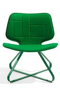 Patch Lounge Chair by Benjamin Hubert
