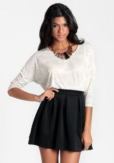 Perfectly Polished Skater Skirt