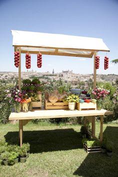 Puestos de comida:boda coctel