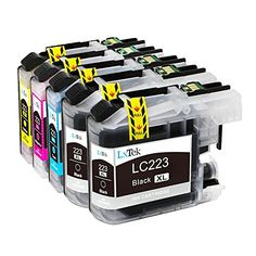 From 9.99 Lxtek Compatible Ink Cartridges Replacement For Brother Lc223xl Lc-223xl Lc223 5pack ( 2 Black 1 Cyan 1 Magenta 1 Yellow ) For Brother Dcp-4120dw Dcp-j562dw Mfc-j4420dw Mfc-j4620dw Mfc-j4625dw Mfc-j480dw Mfc-j5320dw Mfc-j5620dw Mfc-j5625dw Mfc-j5720dw Mfc-j680dw Mfc-j880dw Printer