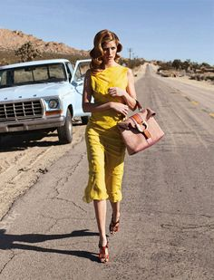 Desert Motel Editorials: The Heide Lindgren You Inspire Shoot is Roughly Elegant