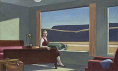 Motel à l'Ouest de Edward Hopper