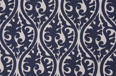 Similiar Blue And White Print Fabric Keywords Black And White Fabric, Blue And White, Navy Blue, Decorating Tips, Interior Decorating, Interior Design, Premier Prints, Roman Blinds, Fabric Wallpaper