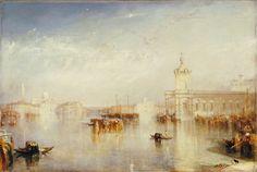 J.M.W. Turner  The Dogano, San Giorgio