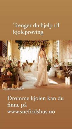 Drømme kjolen kan du finne på www.snefridshus.no