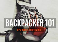 Backpacker page for backpackers by backpackers Backpacker, Budgeting, Budget Organization, Backpacking