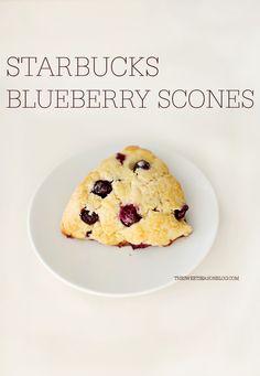 .: STARBUCKS BLUEBERRY SCONES RECIPE