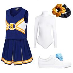5 Easy Ways to DIY Your 'Riverdale' Group Costume for Halloween Go all out and g Vixen Halloween Costume, Cheerleader Halloween Costume, Cheer Costumes, Group Costumes, Diy Costumes, Zombie Costumes, Party Costumes, Couple Costumes, Homemade Costumes