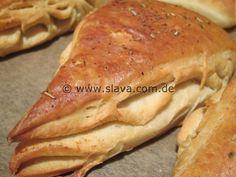 Fluffige Kräuter-Knoblauch-Ecken « kochen & backen leicht gemacht mit Schritt für Schritt Bilder von & mit Slava