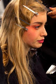 Armani Privé Spring 2017 Couture Fashion Show Beauty