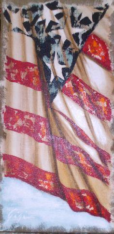 gigi hackford american flag paintings - Google Search