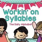Workin' On Syllables is a great center for students in the beginning stages of phonemic/phonological awareness. This can be used for small group instruction/assessment, a pocket chart center or a table top center!