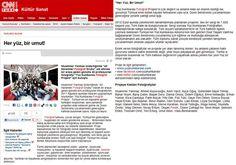 19 Mart 2012 tarihli CNNTurk.com.tr  http://www.cnnturk.com/2012/kultur.sanat/diger/03/19/her.yuz.bir.umut/653724.0/index.html