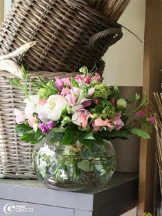 ... baskets / home decor / floral arrangements