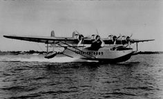 Sikorsky S-42.  Official Pan American World Airways photo from my collection.