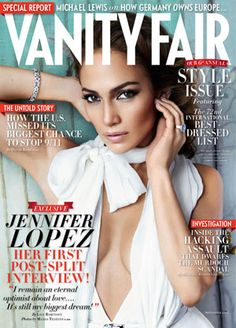 J.LO for Vanity Fair September 2011