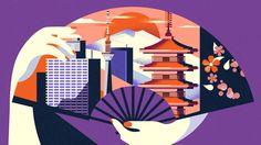 Tokyo Travel destination - illustration
