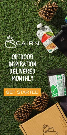 Cairn - outdoor inspiration  delivered monthly! #subscriptionbox #cairn #cairnpartner