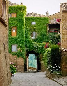 Civita di Bagnoregio..  Tuscany, Italy