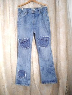 Hippie Jeans Size 14 Long Redesigned Womens by LandofBridget