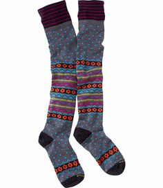 See more detail about Dot Candy Socks - Blue Dot Print at TitleNine.com