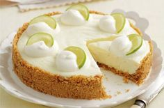 Mary Berry's lemon and lime cheesecake