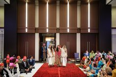 Chicago Wedding Photographer: Nakai Photography - Sikh wedding ceremony room photo! Wedding Ceremony Venue: Hyatt Regency OHare. Coordinator: Oliveaire Artisan Events and Meetings.  http://www.nakaiphotography.com