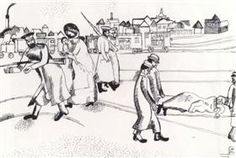 Station in Vitebsk - Marc Chagall