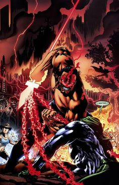 I want to share with you one of my favorite Super Villains of the DC Universe. This is Vandal Savage. Vandal Savage doesn't have Comic Book Characters, Comic Books, Fictional Characters, Vandal Savage, Spirit Of Vengeance, The Spectre, Greatest Villains, American Comics, Teen Titans